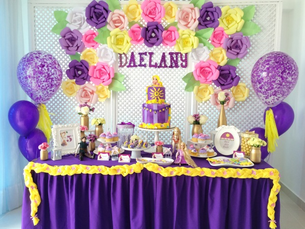 tangled-birthday-decoration-table