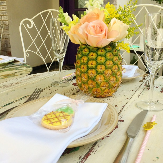 Pineapple Brunch- Table Decor 3